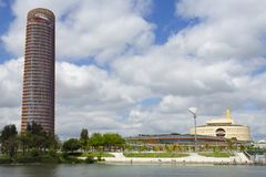 Torre Sevilla lizenzfreie stockbilder