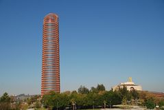 Torre Sevilla, Hiszpania zdjęcie royalty free