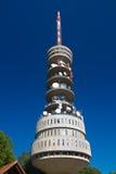 Torre Sljeme de la TV en Zagreb, imágenes de archivo libres de regalías