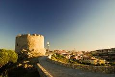 Torre sobre la ciudad Imagen de archivo libre de regalías