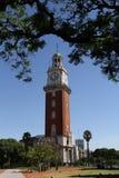Torre som är monumental i Buenos Aires Royaltyfria Foton