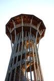 Torre a spirale a Losanna Svizzera Fotografie Stock