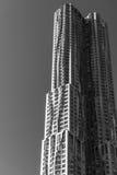 Torre Spruce de Beekman do arranha-céus da rua A construção em 265 m é a 12a torre residencial a mais alta no mundo Imagens de Stock