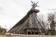 Torre storica di graduazione in Ciechocinek, Polonia Immagine Stock Libera da Diritti