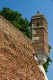 Torre sui bastioni Fotografia Stock