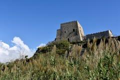 Torre Talao в Scalea, Калабрии стоковые изображения rf