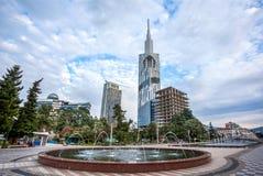 Torre tecnologico da universidade de Batumi o 5 de novembro de 2016 no bastão Fotos de Stock