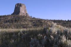 Torre temprana del ` s del diablo Fotografía de archivo libre de regalías