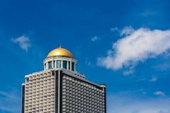 Torre Thanon Si Lom Bangkok Thailand del estado imagenes de archivo