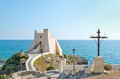 Torre Truglia, Sperlonga Royalty Free Stock Photos