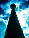 Torre TV Berlino fotografie stock