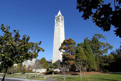 Torre Uc Berkeley de Sather Foto de archivo