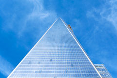 Torre uma New York City do World Trade Center Fotografia de Stock