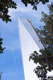 Torre una New York City del World Trade Center Imagen de archivo