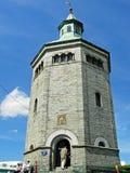 Torre Valbergtårnet de Valberg em Stavanger, Noruega foto de stock