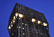 Torre Velasca, Milão Foto de Stock Royalty Free