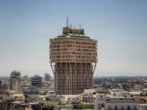 Torre Velasca in Milan, Italy Stock Photo