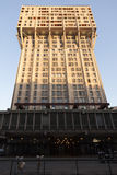 Torre Velasca, Milan in sunset Royalty Free Stock Images