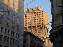 Torre Velasca Milano Fotografia Stock Libera da Diritti