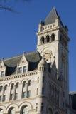 Torre velha da estação de correios Fotos de Stock Royalty Free