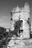 Torre velha de Viviers, França foto de stock royalty free