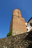 Torre velha do tijolo Fotografia de Stock Royalty Free