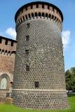 Torre velha em Milão Imagens de Stock