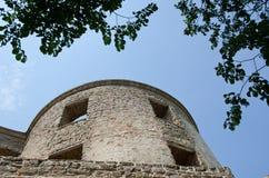 Torre velha em um castelo Imagem de Stock Royalty Free