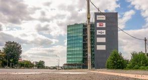 Torre verde Foto de archivo libre de regalías