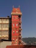 Torre vermelha Fotografia de Stock