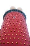 Torre vermelha de Dali Theatre-Museum fotos de stock