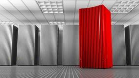 Torre vermelha do conhecimento Fotos de Stock Royalty Free