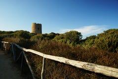Torre vieja de aragon Fotografía de archivo libre de regalías