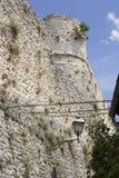 Torre vieja de Pacentro Imagen de archivo libre de regalías