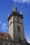 Torre vieja del ayuntamiento imágenes de archivo libres de regalías