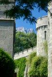 Torre vieja del castillo Imagen de archivo libre de regalías