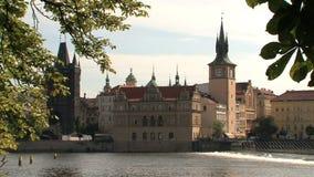 Torre vieja del puente de la ciudad, Praga metrajes