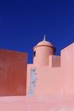 Torre vieja S. Joao das Maias de la fortaleza Imagen de archivo