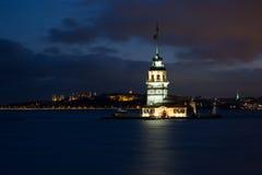 Torre virginal Estambul Imagen de archivo