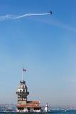 Torre virginal Estambul Imagenes de archivo