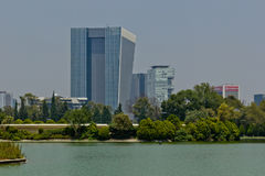 Torre Virreyes da Chapultepec a Messico City Immagini Stock