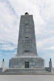 Torre Wilbur e Orville Wright di commemorazione del granito Fotografie Stock Libere da Diritti