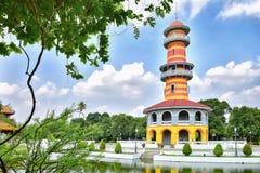 (Torre) WITHUN NOIOSO THASANA (l'allerta delle salvie) in Tailandia Fotografia Stock Libera da Diritti