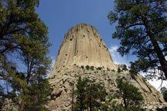 Torre Wyoming del diablo Fotos de archivo