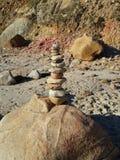 Torre XL da rocha Imagem de Stock