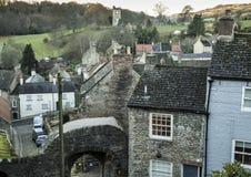 Torre y arco de Culloden cerca de Richmond Castle Imagen de archivo libre de regalías