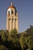 Torre y biblioteca de Hoover Imagenes de archivo