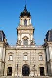 Torre y caballos Imagenes de archivo