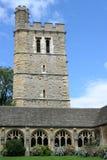 Torre y claustro medievales, Oxford Fotos de archivo