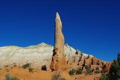 Torre y montañas, Utah de la roca Foto de archivo